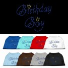 Birthday Boy Rhinestone Shirt | PrestigeProductsEast.com