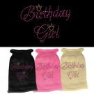 Birthday Girl Rhinestone Knit Pet Sweater | PrestigeProductsEast.com