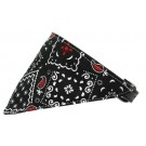 Black Western Bandana Pet Collar | PrestigeProductsEast.com