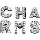 Bling Letter Sliding Charms   PrestigeProductsEast.com