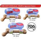 Pet Qwerks Boar BarkBone with Pork Chop Flavoring | PrestigeProductsEast.com