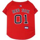 Boston Red Sox Baseball MLB Pet Jersey | PrestigeProductsEast.com
