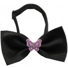 Purple Butterflies Chipper Pet Bow Tie | PrestigeProductsEast.com