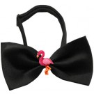Pink Flamingo Chipper Pet Bow Tie | PrestigeProductsEast.com