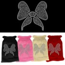 Bow Rhinestone Knit Pet Sweater | PrestigeProductsEast.com
