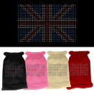 British Flag Rhinestone Knit Pet Sweater | PrestigeProductsEast.com