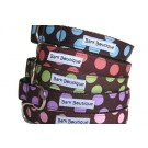 Color Dots - Nylon Collars