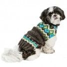 Charcoal Fairisle Dog Sweater | PrestigeProductsEast.com