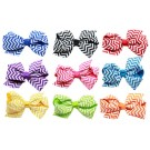 Chevron Hair Bows | PrestigeProductsEast.com