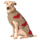 Red Hearts Dog Sweater | PrestigeProductsEast.com