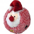 Christmas EZ Squeaky Red Santa Ball 5 inch | PrestigeProductsEast.com