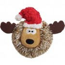 Christmas EZ Squeaky Reindeer Ball - 4 inch | PrestigeProductsEast.com