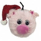 Christmas EZ Squeaker Ball - Squeaky Pig | PrestigeProductsEast.com