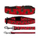 Christmas Trees Nylon Ribbon Collars | PrestigeProductsEast.com