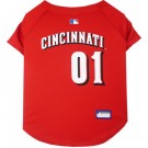 Cincinnati Reds Baseball MLB Pet Jersey | PrestigeProductsEast.com