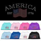 Classic American Rhinestone Shirt | PrestigeProductsEast.com