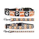 Halloween Nylon Ribbon Collar and Leash | PrestigeProductsEast.com
