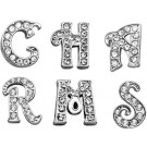 Clear Script Letter Sliding Charms | PrestigeProductsEast.com