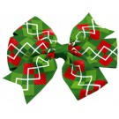 Christmas Argyle Hair Bows | PrestigeProductsEast.com