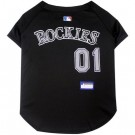 Colorado Rockies Baseball MLB Pet Jersey | PrestigeProductsEast.com