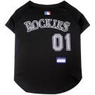 Colorado Rockies Baseball MLB Pet Jersey | PrestigeProductsEast.com