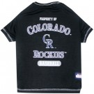 Colorado Rockies Baseball Pet Shirt | PrestigeProductsEast.com