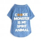Cookie Monster is My Spirit Animal Pet Shirt | PrestigeProductsEast.com