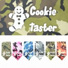 Cookie Taster Screen Print Bandana | PrestigeProductsEast.com