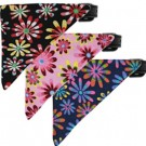 Crazy Daisies Bandana Pet Collar | PrestigeProductsEast.com