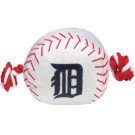 Detroit Tigers Nylon Baseball Rope Pet Toy  | PrestigeProductsEast.com