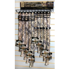 "Advantage Wetland Camo 1"" Collars Display"