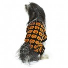 Hotel Doggy Cozy Plush Pajama With AOP Black | PrestigeProductsEast.com
