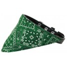 Emerald Green Western Bandana Pet Collar | PrestigeProductsEast.com