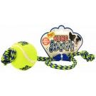 Air Kong® Medium Squeaker Ball with Rope