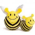 fabdog Bumble Bee faball Squeaky Dog Toy | PrestigeProductsEast.com