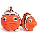 fabdog Clown Fish faball Squeaky Dog Toy | PrestigeProductsEast.com
