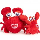 fabdog Crab faball Squeaky Dog Toy | PrestigeProductsEast.com