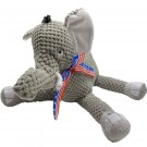 fabdog Floppy Elephant Toy w/ Patriotic Ribbon | PrestigeProductsEast.com