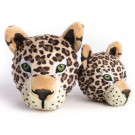 fabdog Leopard faball Squeaky Dog Toy | PrestigeProductsEast.com
