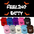 Feeling Batty Screen Print Pet Hoodies | PrestigeProductsEast.com