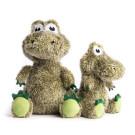 Fluffy Alligator Plush Toy with Fabtough | PrestigeProductsEast.com