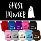 Ghost Hunter Screen Print Pet Hoodies | PrestigeProductsEast.com