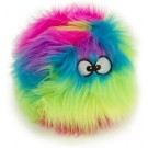 GoDog Furballz Chew Guard Dog Toy, Rainbow | PrestigeProductsEast.com