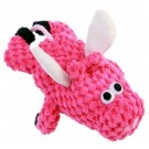 GoDog Just For Me Pink Flying Pig Checkers with Chew Guard | PrestigeProductsEast.com