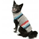 Gray Chevron Dog Sweater | PrestigeProductsEast.com