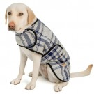 Grey and Blue Plaid Blanket Coat | PrestigeProductsEast.com