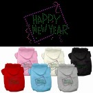 Happy New Year Rhinestone Hoodie | PrestigeProductsEast.com
