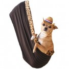 Fleur De Lis Rhinestone Puppy Holdem Sling | PrestigeProductsEast.com