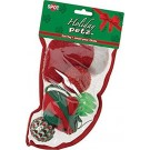 Holiday Cat Toy Stocking Small 5pc | PrestigeProductsEast.com