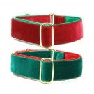Holiday Velvet Satin Lined Collars & Leads | PrestigeProductsEast.com